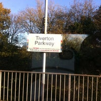 Photo taken at Tiverton Parkway Railway Station (TVP) by Ian A. on 11/11/2012