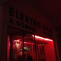 Photo taken at Elektro Gönner by Florian K. on 2/23/2013