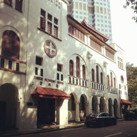 Photo taken at Telok Ayer Chinese Methodist Church by whereisemil on 12/22/2012