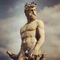 Photo taken at Piazza della Signoria by whereisemil on 3/9/2013