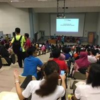 Photo taken at Lecture Hall 2 (DK2) by azlin h. on 9/29/2016