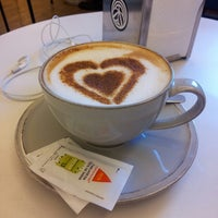 Photo taken at Choupana Caffe by Joana on 4/23/2013