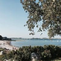 Photo taken at Pavillion Beach by Lindsay S. on 9/8/2015