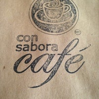Photo taken at Con Sabor a Café by Irene S. on 7/9/2013