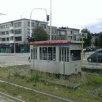 Photo taken at Halte Antwerp Stadion by Freakske2000 A. on 8/28/2014