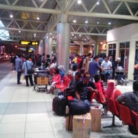 Photo taken at Sultan Mahmud Badaruddin II International Airport (PLM) by Nizar W. on 1/7/2013