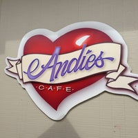 Photo taken at Andie's Cafe by Judy B. on 3/2/2013