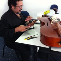 Photo taken at Escola de Música by Jeff P. on 11/30/2012