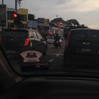Photo taken at Simpang Empat Semabok by lynda h. on 12/21/2015