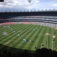 Photo taken at MCG by Sam Y. on 9/29/2012