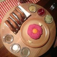 Photo taken at Steak House Liberec by Jirka H. on 1/20/2013