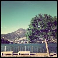 Photo taken at Lido di Villa Geno by Fabrizio S. on 12/5/2012