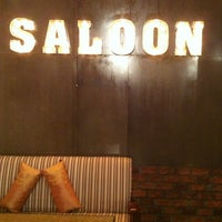Photo taken at SALOON cafe' by Miminny O. on 1/6/2013