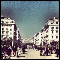 Photo taken at Aristotelous Square by Giorgos K. on 3/10/2013