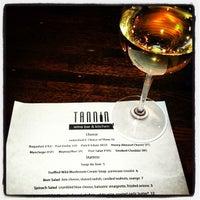 Photo taken at Tannin Wine Bar & Kitchen by Leslie S. on 2/28/2013