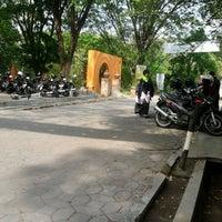 Photo taken at Parkiran FMIPA UNS by Deshy P. on 10/20/2012