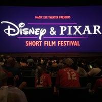 Photo taken at Disney & Pixar Short Film Festival (Magic Eye Theater) by Melanie K. on 6/11/2017