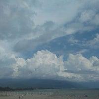 Снимок сделан в Самый южный пляж России пользователем julie 😸😸😸 p. 8/24/2015