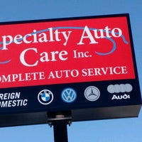 Photo taken at Specialty Auto Care by Brett C. on 9/27/2016