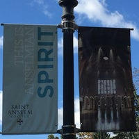Photo taken at Saint Anselm College by Caroline K. on 10/24/2016