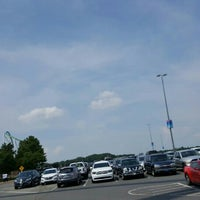 Photo taken at Carowinds Parking Lot by Dwayne K. on 7/4/2016
