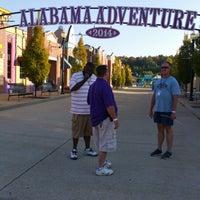 Photo taken at Alabama Splash Adventure by Dwayne K. on 10/25/2014