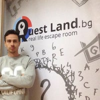 Photo taken at Quest Land / Escape room by Georgi G. on 10/10/2015