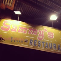 Photo taken at Sammy's Roumanian Steakhouse by Philip P. on 6/16/2013