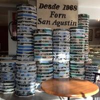 Photo taken at Forn Sant Agustín by Yann T. on 10/21/2012