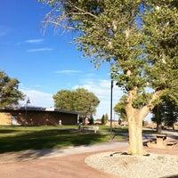 Photo taken at Blue Star Memorial Rest Stop by Evangeline B. on 8/3/2013