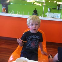 Photo taken at Orange Leaf by Denisa T. on 6/14/2013