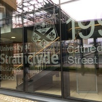 Photo taken at Strathclyde Business School by Ed N. on 6/23/2017