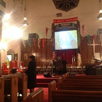 Photo taken at Harold O. Davis Memorial Baptist Chuch by Geraldine H. on 10/25/2013