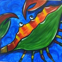 Photo taken at Painting with a Twist by Tiffany Q. on 7/14/2013