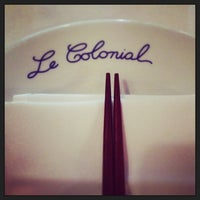 Photo taken at Le Colonial by EATERAZ on 6/13/2013