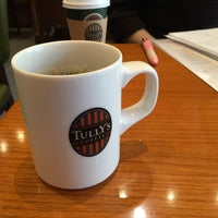 Photo taken at Tully's Coffee by Ritsuki S. on 4/16/2015