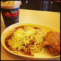 Photo taken at Jollibee by Karina N. on 7/25/2013