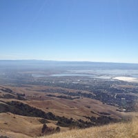 Photo taken at Mission Peak (top) by Brendan T. on 9/16/2012