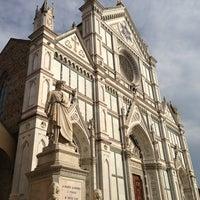 Photo taken at Basilica of Santa Croce by Tanapat C. on 5/22/2013