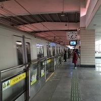 Photo taken at W. Yan'an Rd. Metro Stn. by Shunitsu M. on 1/12/2016