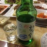 Photo taken at 韩百川烧烤店 by Shunitsu M. on 4/28/2014