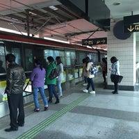 Photo taken at W. Yan'an Rd. Metro Stn. by Shunitsu M. on 4/4/2016