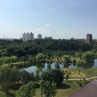 Photo taken at Бизнес-центр «Парк» by Svetlana A. on 7/11/2016