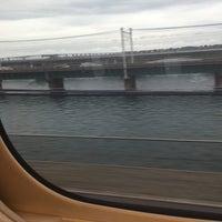 8/2/2017にだいせいが東海道新幹線 第三浜名橋梁で撮った写真