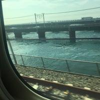 9/7/2017にだいせいが東海道新幹線 第三浜名橋梁で撮った写真