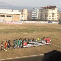 Photo taken at Mut İlçe Stadyumu by 🇹🇷Zihni O. on 2/11/2018