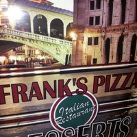 Photo taken at Franks Pizza by Andre M. on 12/10/2013