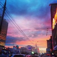 Снимок сделан в Киноцентр «Октябрь» пользователем ♔ Alisa ♔. 6/17/2013