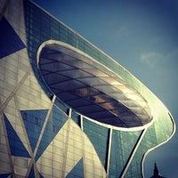 Photo taken at City Hall Stn. by phuwa' k. on 12/11/2012