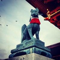 Photo taken at Fushimi Inari Taisha by phuwa' k. on 2/12/2013